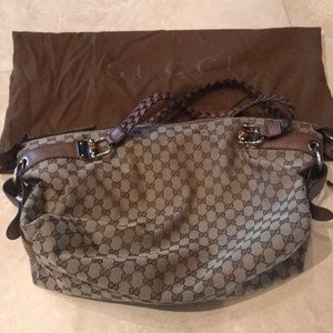 Authentic used once Gucci bag